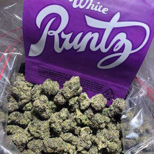 How much does a white runtz cost?